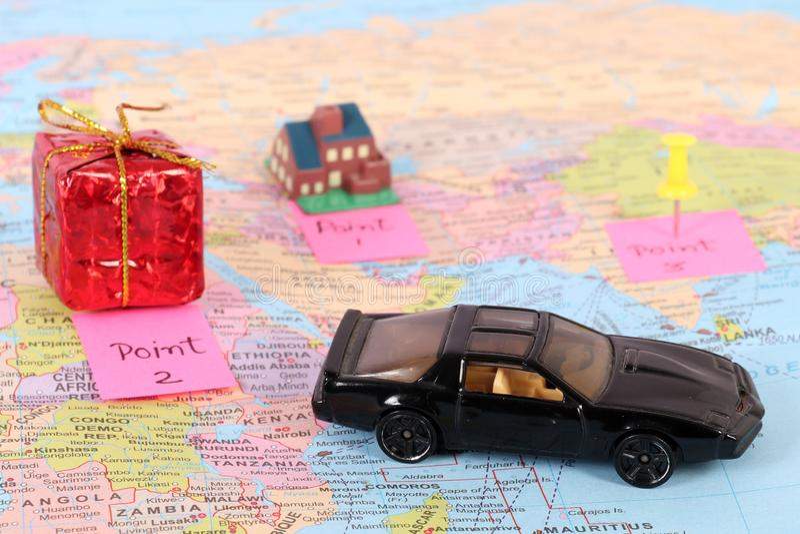 Travel destinations royalty free stock image