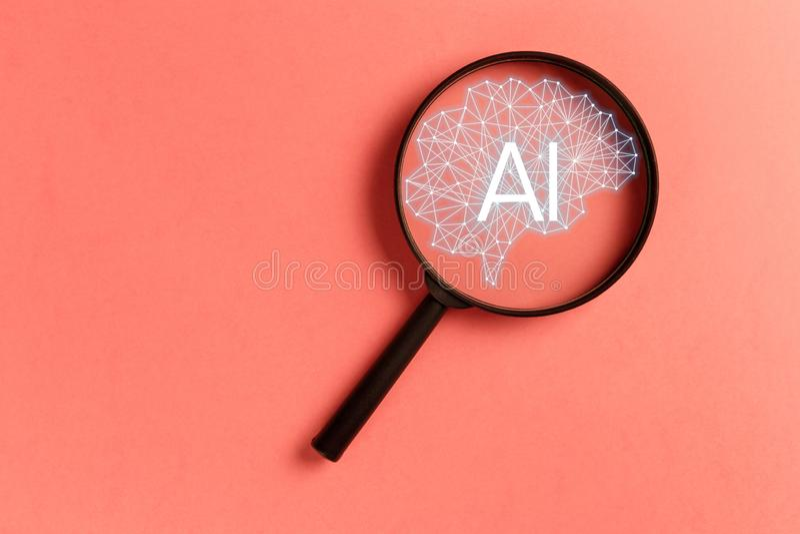 Concept smart search stock photos