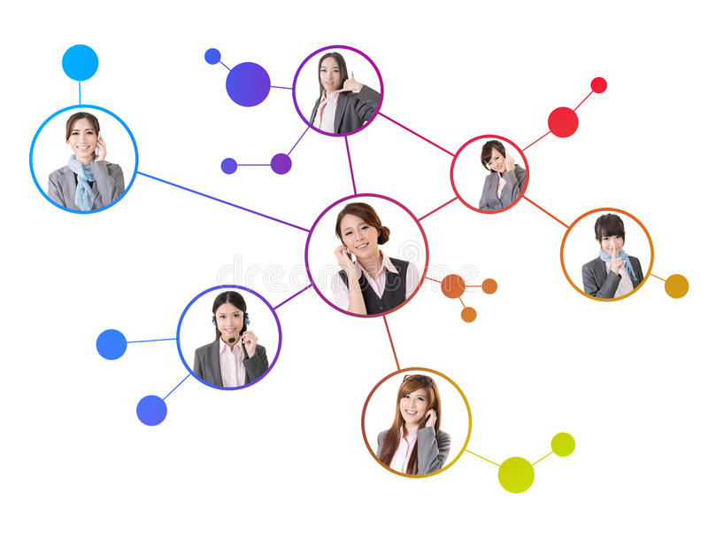 Concept sociaal media netwerk royalty-vrije stock fotografie