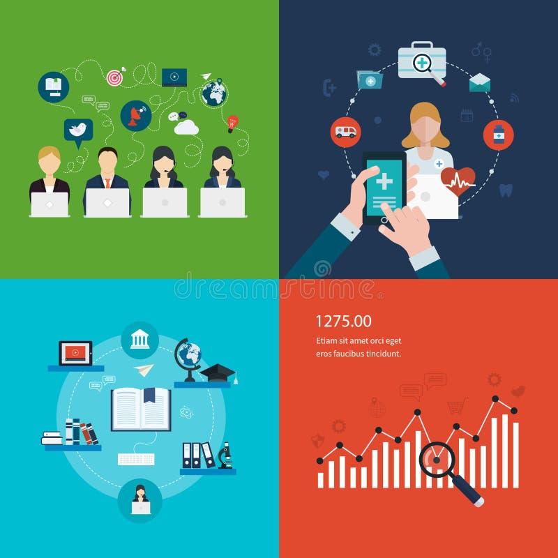 Concept sociaal media netwerk, project
