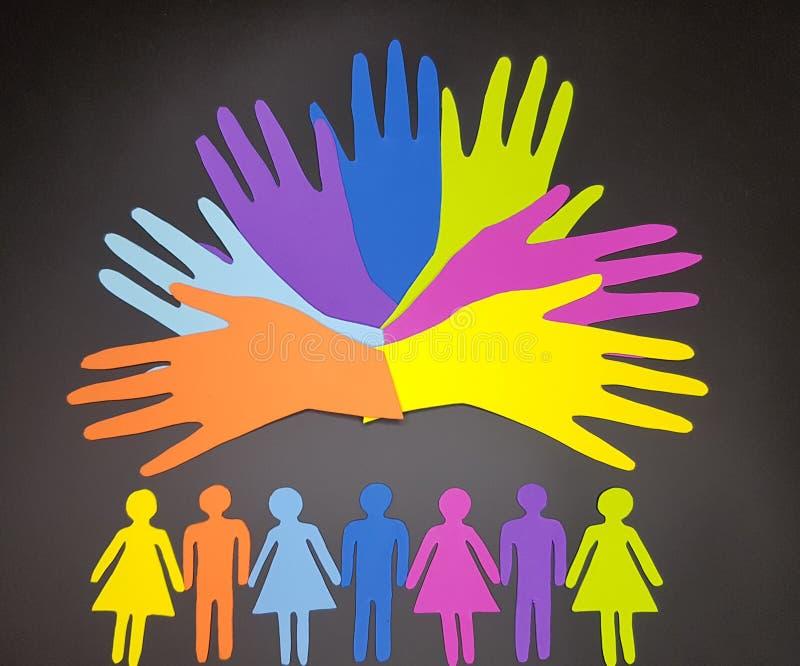 Concept social de diversité photos libres de droits