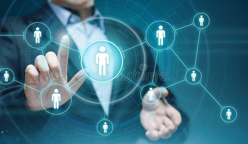 Concept social de technologie d'affaires d'Internet de réseau de Media Communication image libre de droits