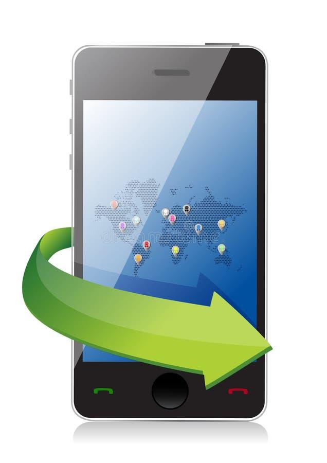 Download Concept Of Social Network Or Team Work Stock Illustration - Illustration: 29214499