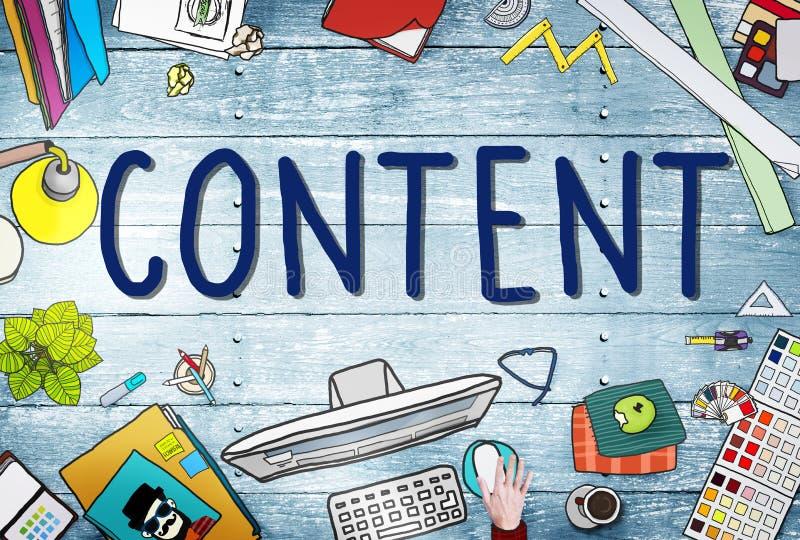 Concept social satisfait de connexion de mise en réseau de media illustration stock