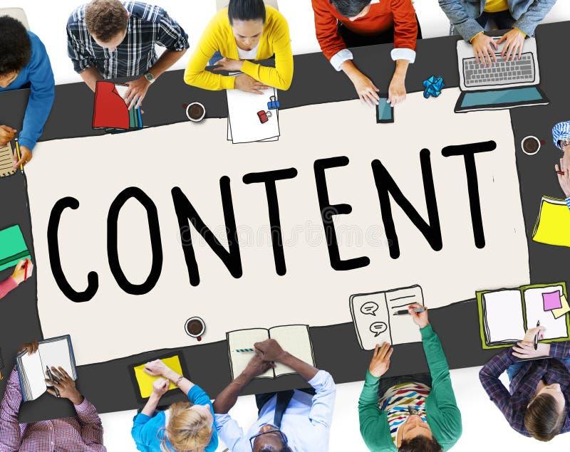 Concept social satisfait de connexion de mise en réseau de media images libres de droits