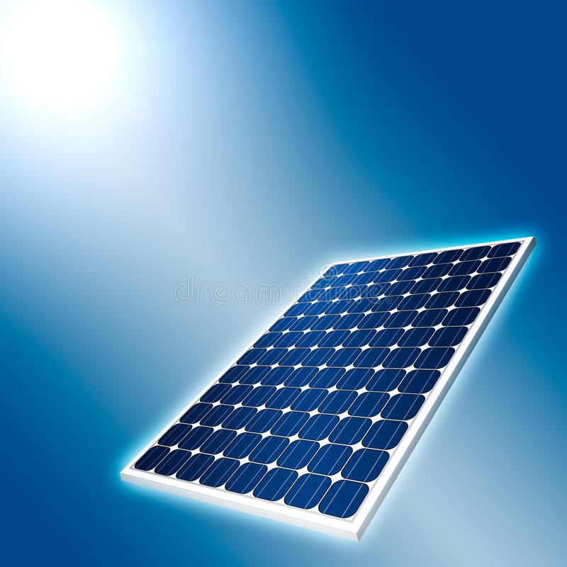 Download Concept of Solar Panel stock illustration. Image of alternative - 14984101