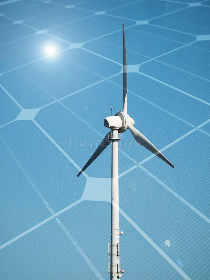 Concept soutenable d'énergie image stock