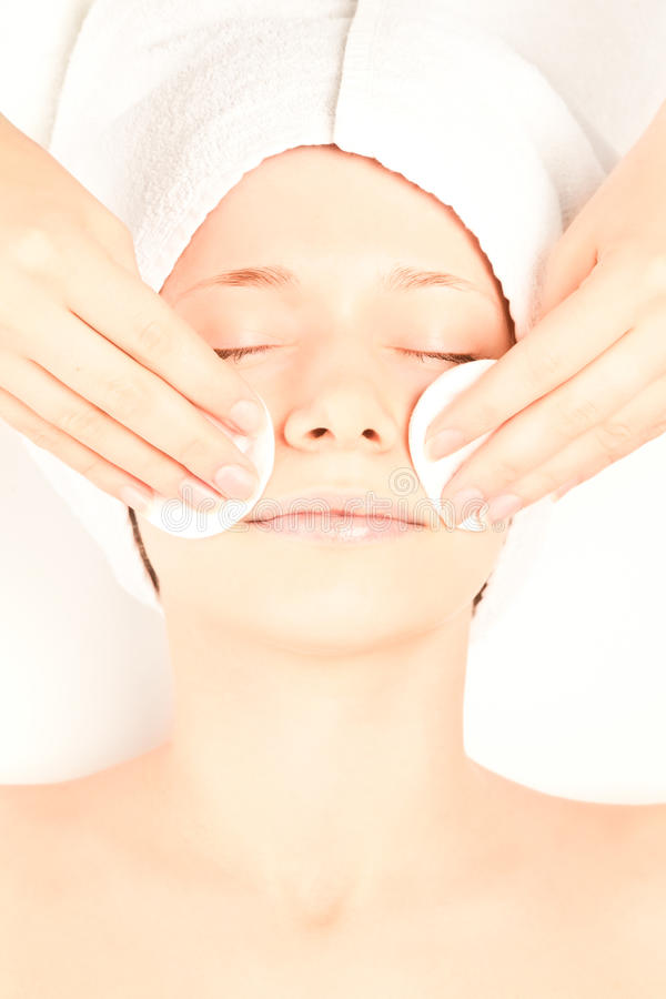 Concept of spa procedures royalty free stock images