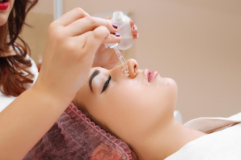 The concept of spa procedures. royalty free stock images