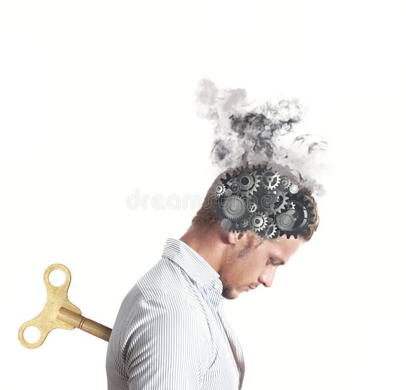 Het concept van de spanning stock foto