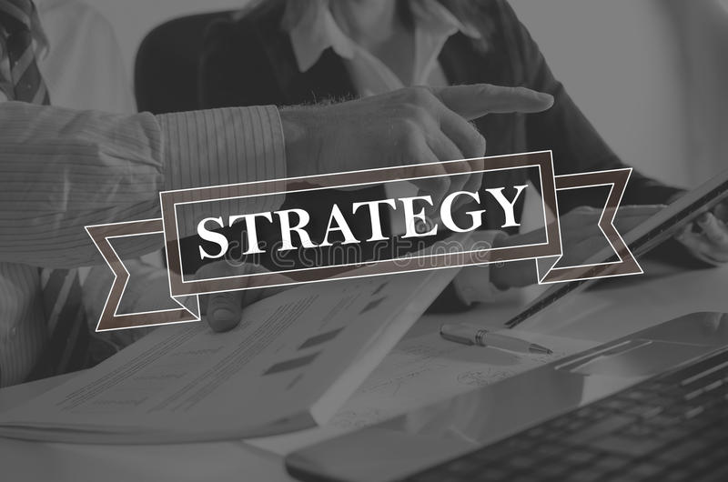 Concept of strategy royalty free stock photo