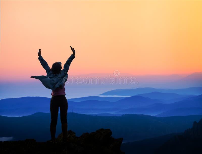 Concept succes, sporten, overwinning stock afbeelding