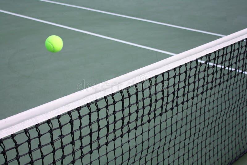 Concept tennisspel stock afbeeldingen