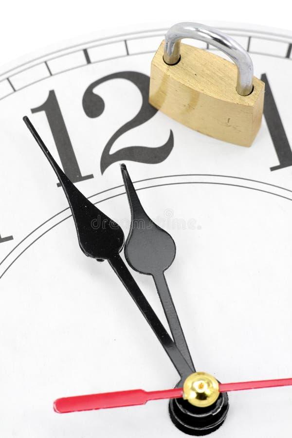 Concept tijdcontrole royalty-vrije stock foto