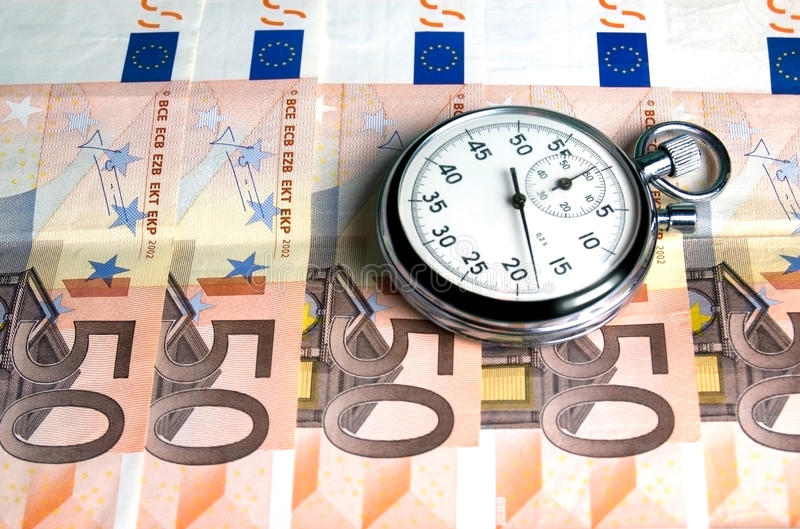 Download Concept - Time is money stock photo. Image of currency - 14959302