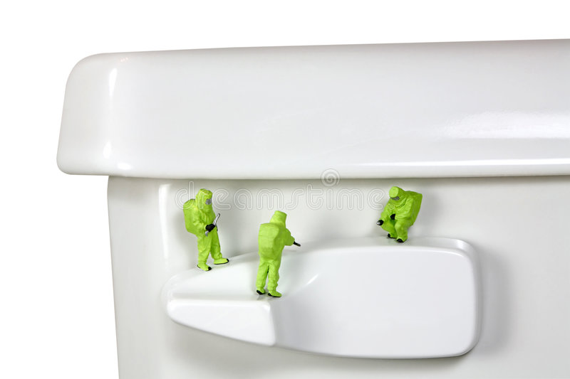 Download Concept: Toilet Germs Stock Photo - Image: 3043120
