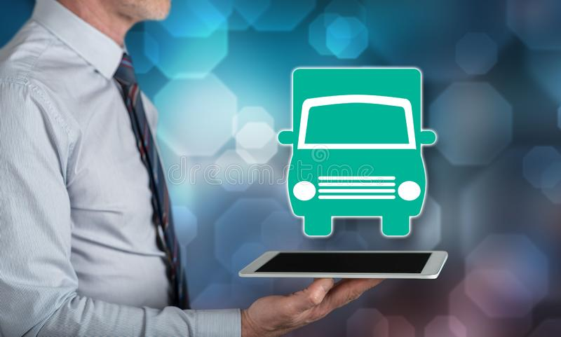 Concept of transportation stock images