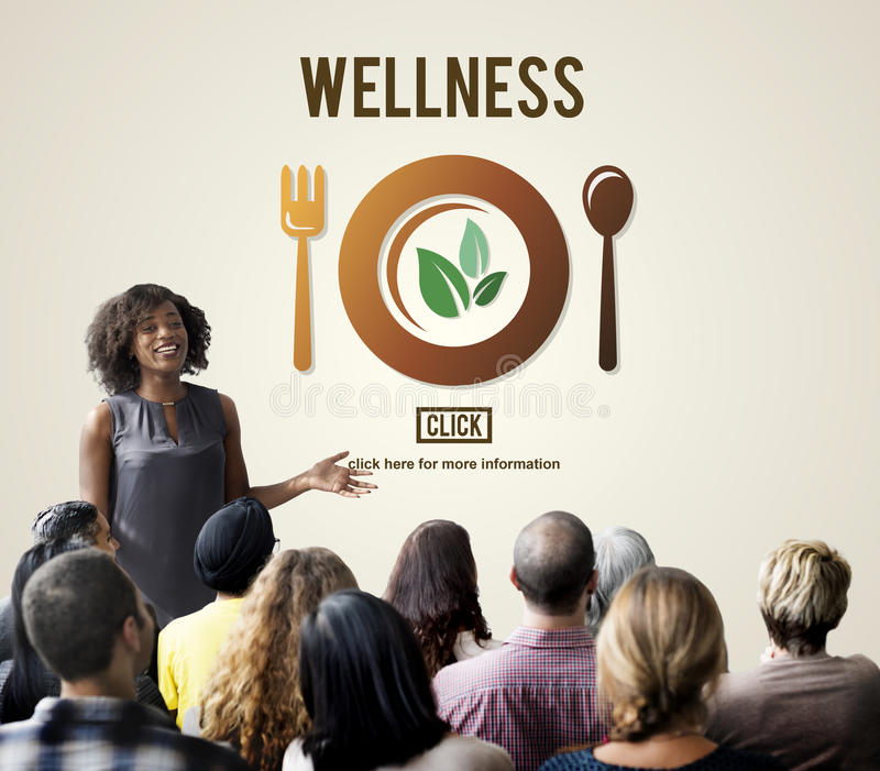 Concept van de de Gezondheids het Gezonde Levensstijl van het Wellnesswelzijn stock afbeeldingen