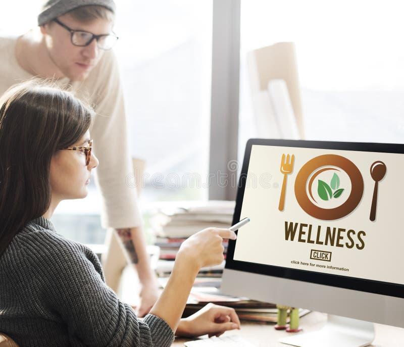 Concept van de de Gezondheids het Gezonde Levensstijl van het Wellnesswelzijn stock foto's