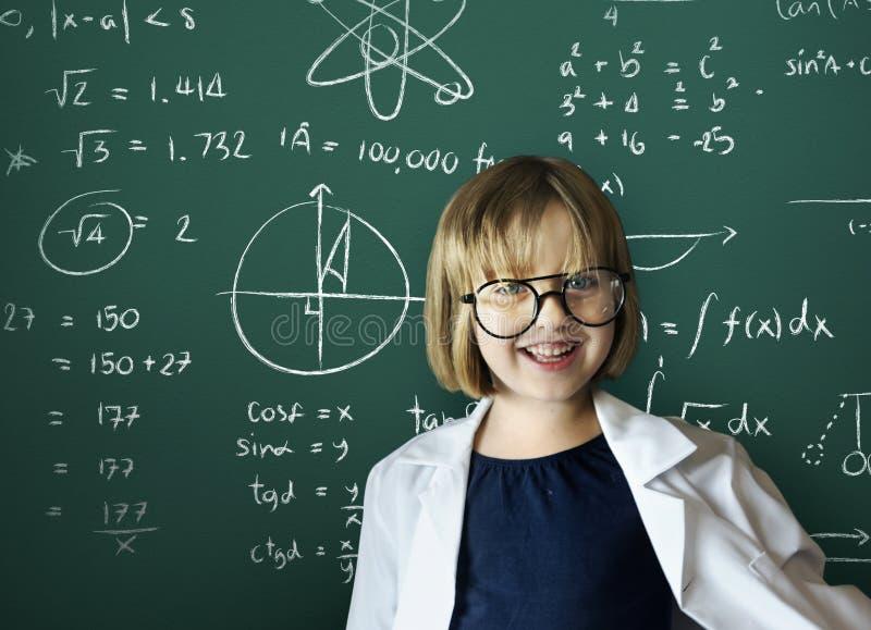 Concept van de het Genoegenontspanning van meisjes het Leuke Mooie Kinderen stock foto's