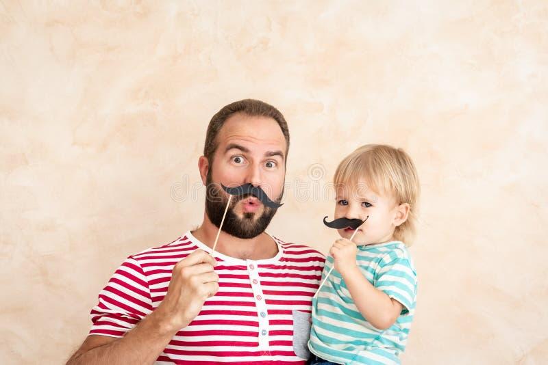 Concept van de vaderdag het Internationale Vakantie stock afbeelding