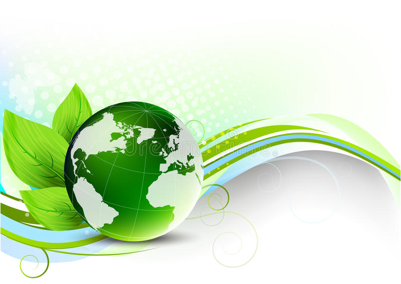 Concept vert illustration stock