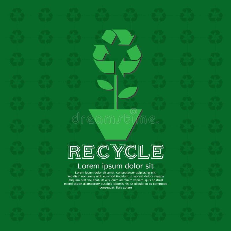 Concept vert. illustration de vecteur