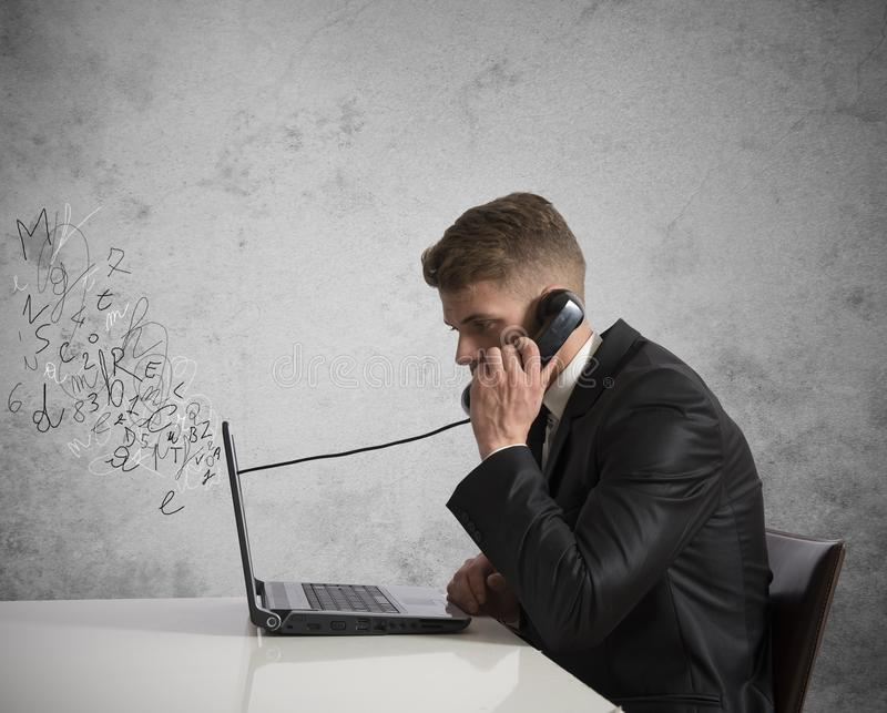 Download Phone and voice over ip stock image. Image of conversation - 29788721
