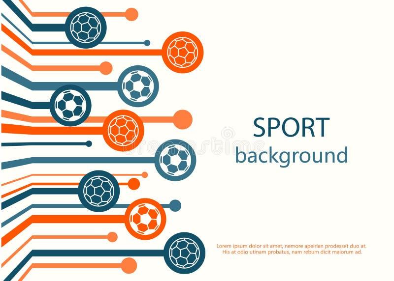 Concept Of Web Banner. Sport Background Stock Vector - Illustration Of  Design, Sport: 57709216