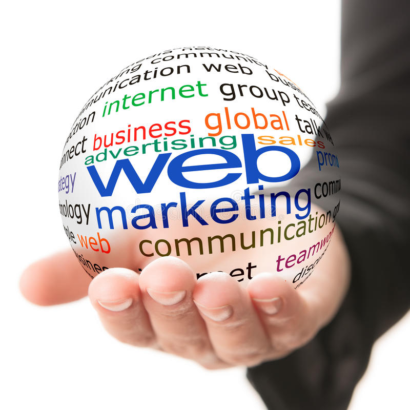 Download Concept Of Web Marketing In Business Stock Image - Image: 33045329