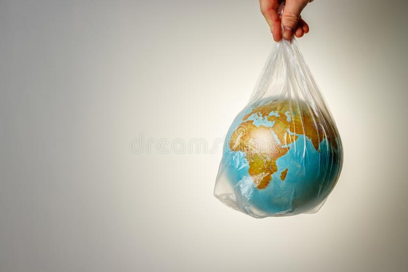 The concept of World Environment Day stock images