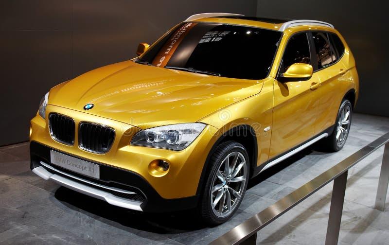Concept X1 de BMW photographie stock libre de droits