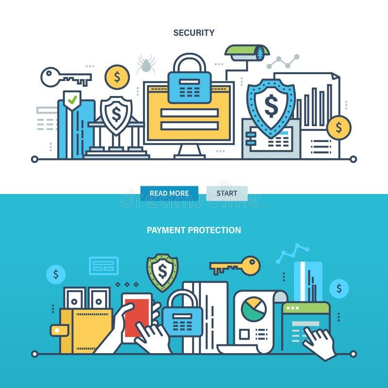 Concept - zaken en technologie vector illustratie