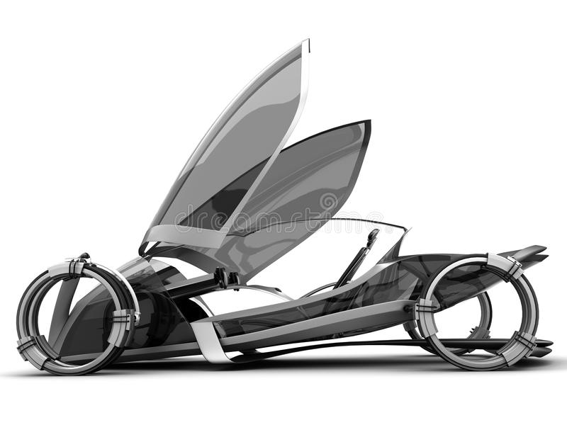 conceptcar μέλλον ελεύθερη απεικόνιση δικαιώματος