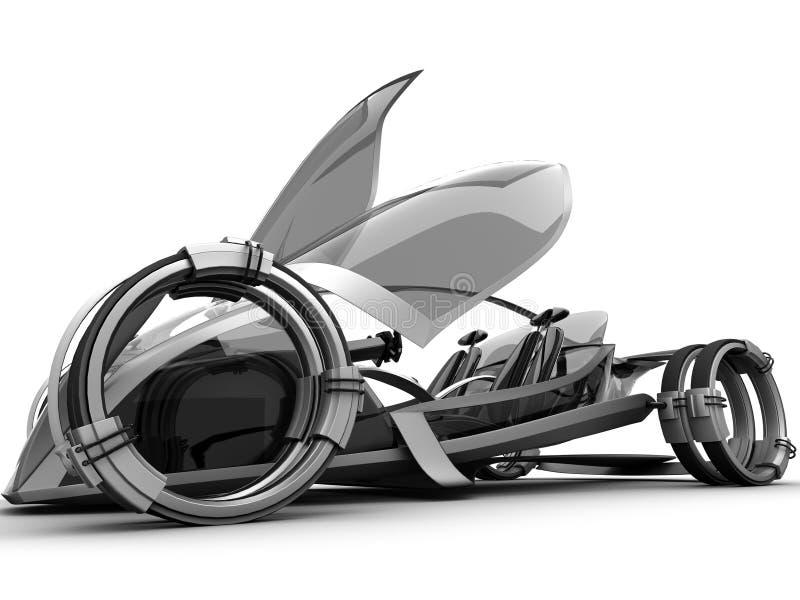 conceptcar μέλλον διανυσματική απεικόνιση