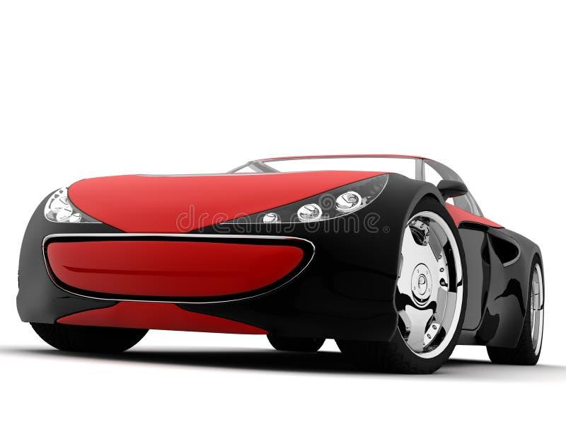 Conceptcar. My conceptcar design, my 3d model and render vector illustration