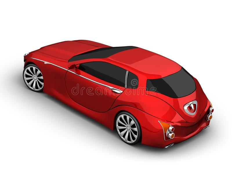 Conceptcar 3 illustration libre de droits
