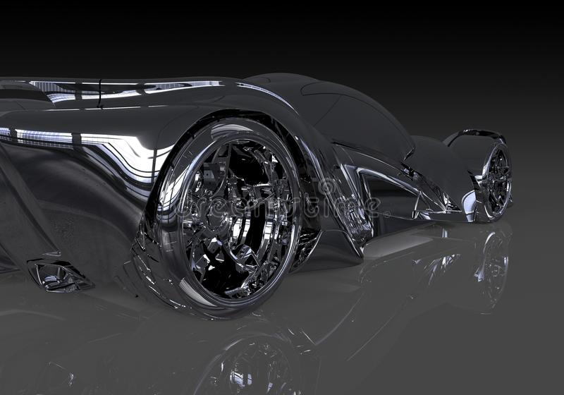 Conceptenauto vector illustratie
