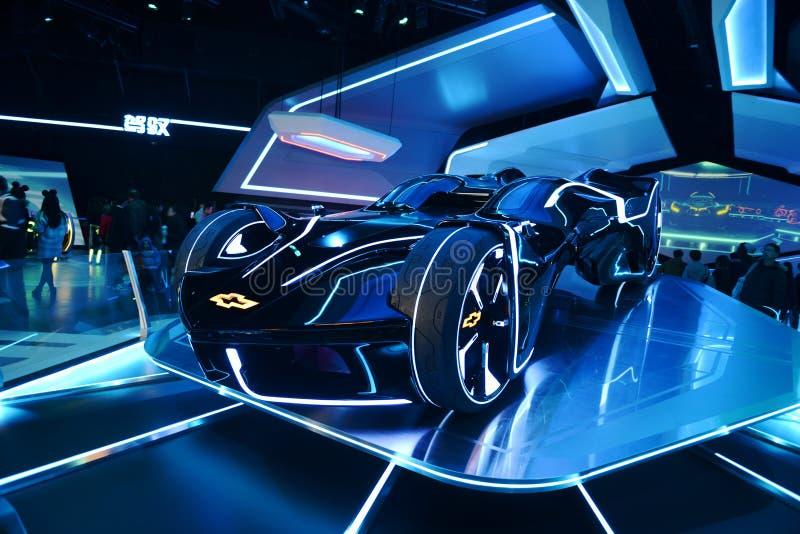 Conceptenauto van Chevrolet stock foto