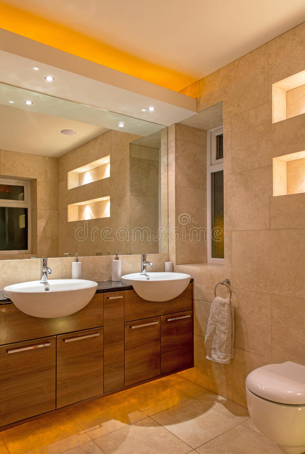 Concepteur Bathroom image stock