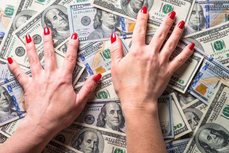 Conceptie van rijkdom en rijken royalty-vrije stock foto