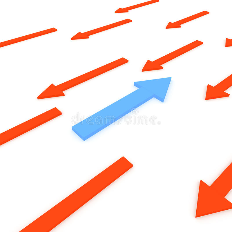 Conceptie van succes. vector illustratie