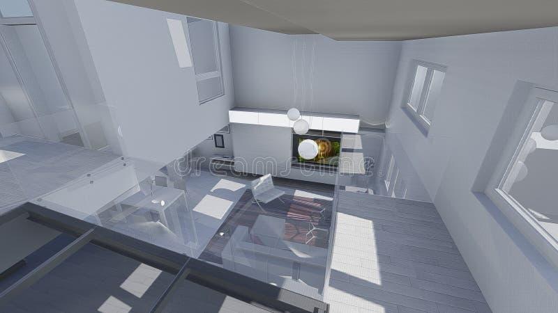 Download Conception à la maison illustration stock. Illustration du sofa - 45360021