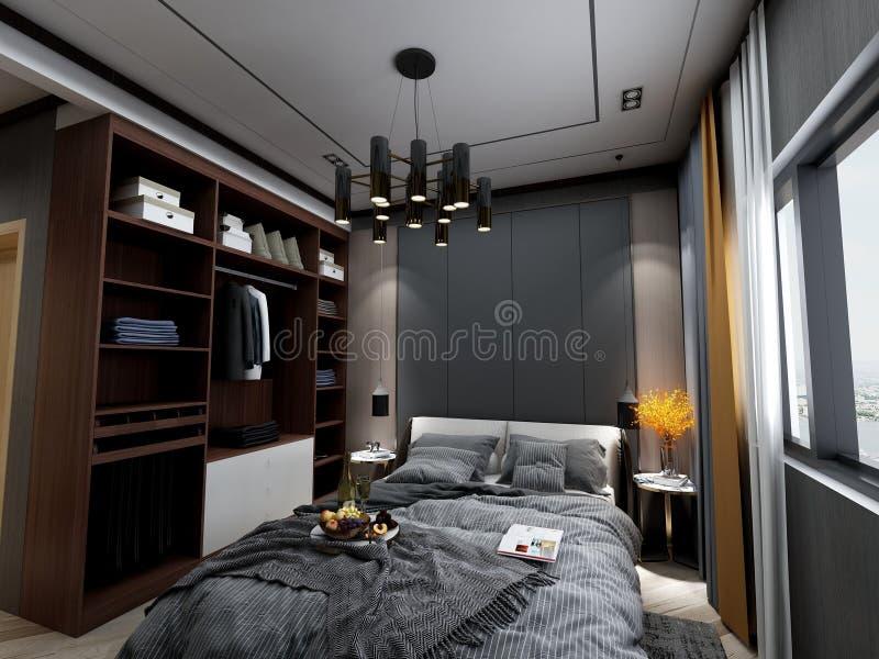 Conception à la maison de décoration, style simple, européen, américain, nordique, moderne, postmoderne, industriel moderne, cham photographie stock
