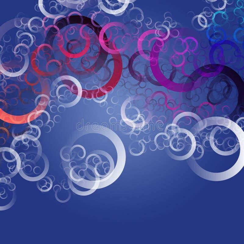 Conception élégante abstraite de fond de cercle illustration stock