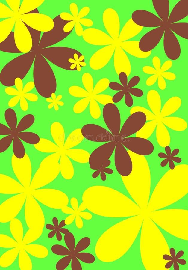 Conception 5 de fleur images stock