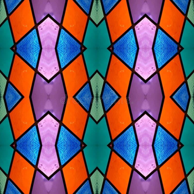 conception abstraite avec le verre souill? ? de divers couleurs, arri?re-plan et texture illustration libre de droits