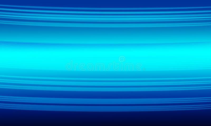 Conception abstraite bleue de vecteur de fond, fond ombragé brouillé coloré illustration stock
