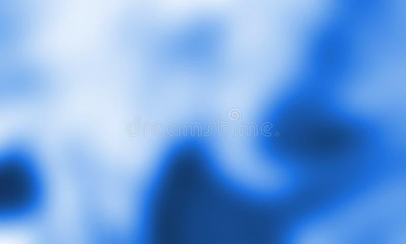 Conception abstraite bleue de vecteur de fond, fond ombragé brouillé coloré, illustration vive de vecteur de couleur photos libres de droits