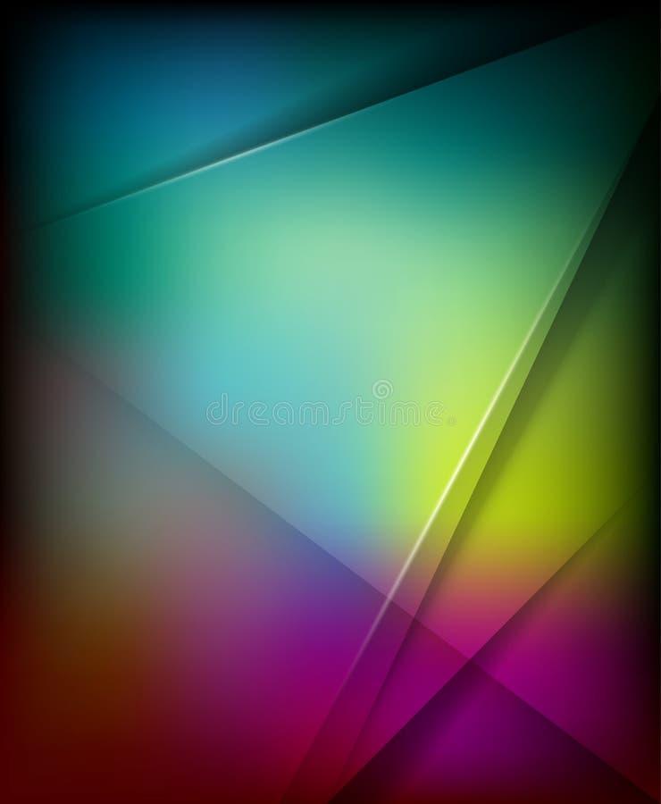 Conception abstraite colorée de fond d'affaires illustration de vecteur